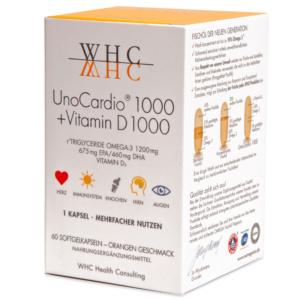 WHC UnoCardio 1000 + Vitamin D 1000